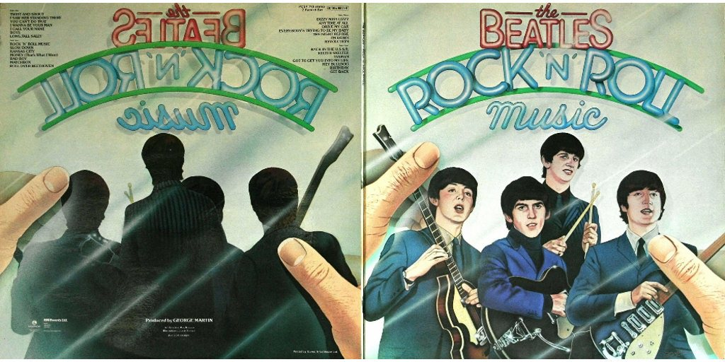 """This Day In Album History 06/07/1976 – The Beatles """"Rock ..."""